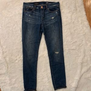 J. Crew Distressed Crop Jeans